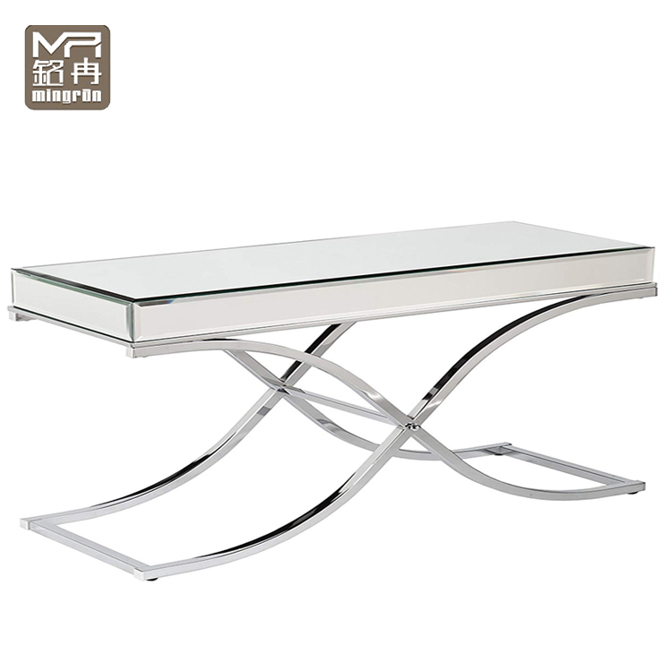 Mirrored Small Rectangle Coffee Table In Stainless Steel Base Buy Small Mirrored Coffee Table Rectangle Mirror Coffee Table Stainless Steel Frame Coffee Table Product On Alibaba Com