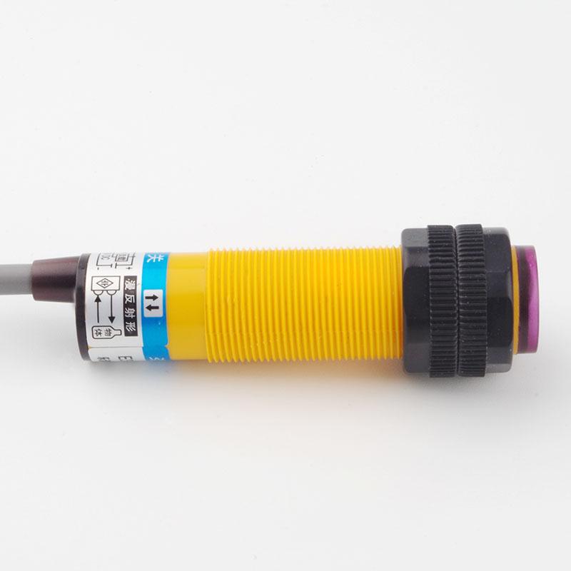 Odoelec M18 цилиндрический фотоэлектрический датчик Модель E3F-DS10C4 18 мм с резьбой цилиндрический оптический датчик приближения