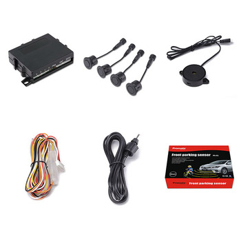 Car auto Front parking sensor with 4 sensors detector universal for vehicles