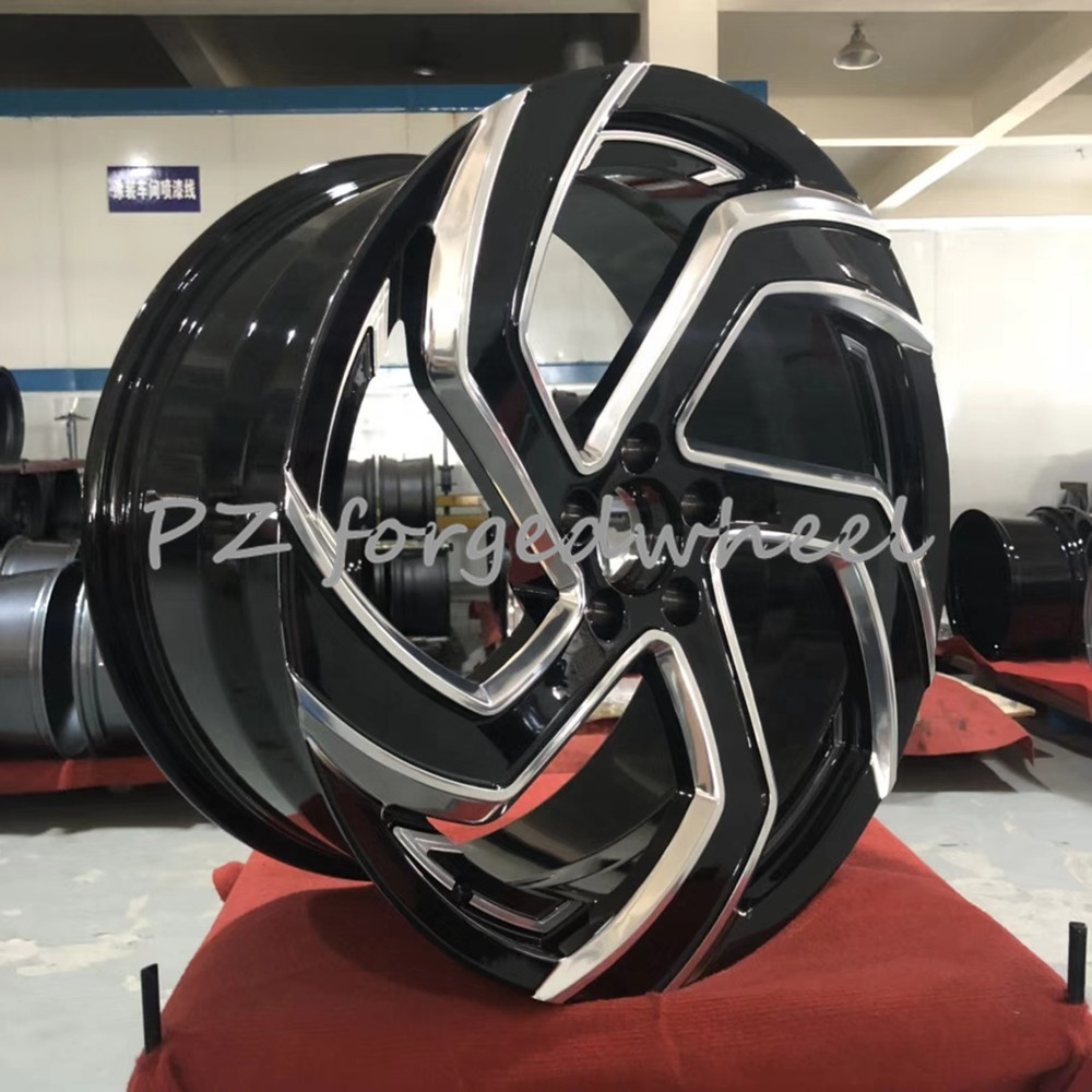 Forged customized design and size data energy saving aluminum car rims for nio es8 suv