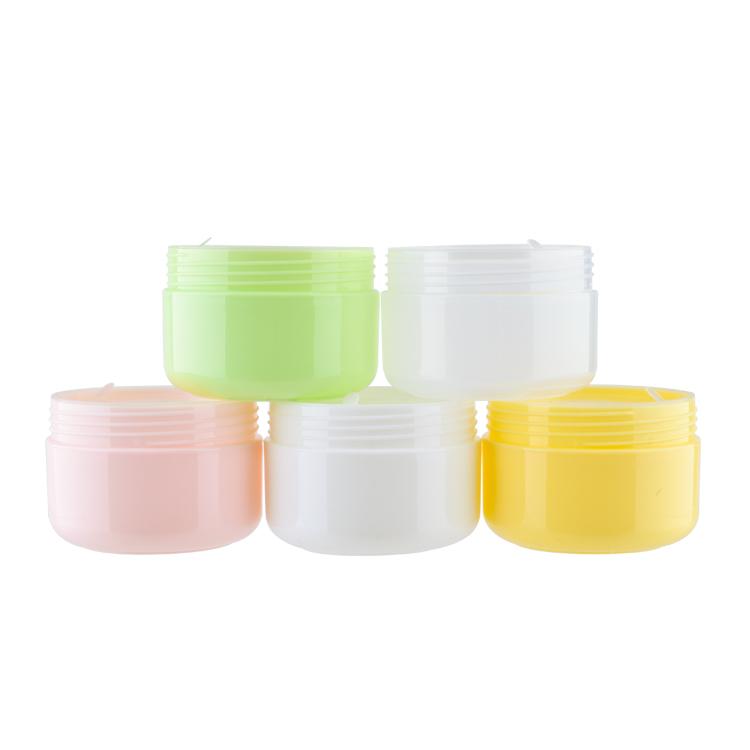 20g 50g 100g 150g 250g eco friendly refillable body facial lotion pp empty plastic cream jars