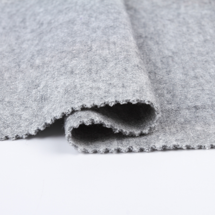 Latest design custom knit cashmere fabric cheap price for women clothing