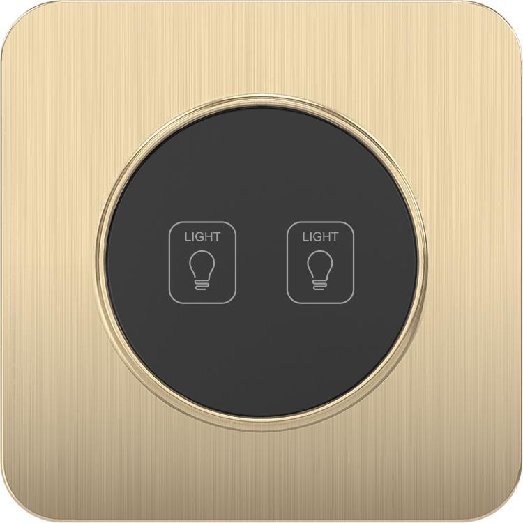 Сонгри стандарт ЕС 100-250V 16A 2 Gang дома Сенсорный экран Wi-Fi пульта дистанционного управления осветителя для интеллектуальные коммутаторы
