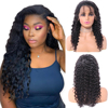 13*4 deep wave lace wig