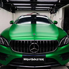 WrapMaster 1.52*18 meter matte heavy metal vehicle car vinyl wrap designs flame green