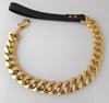 Gold leash