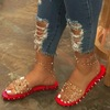 RED-sandals