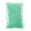 Lt green resin rhinestone