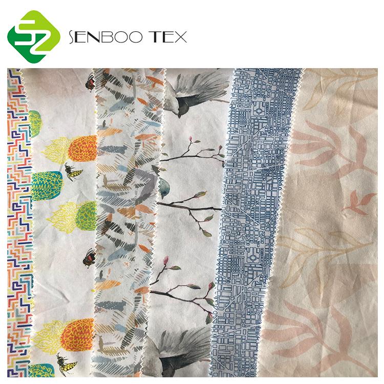Производство органических тканей с сертификатом личинок, ткани из органического хлопка с индивидуальным принтом для обертывания еды