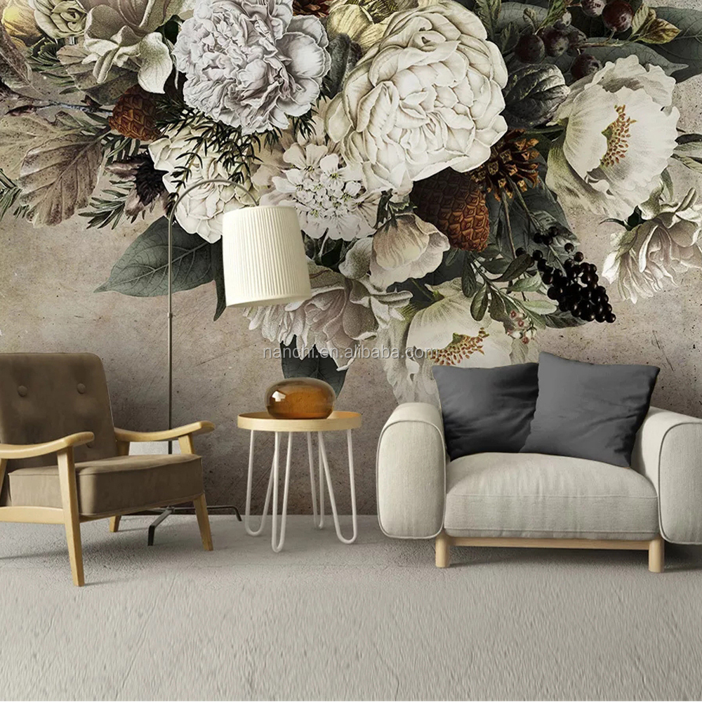 3d Flower Wallpaper For Home Decoration Modern Wallpapers Design For Tv Wall Self Adhesive Paper Bedroom Tv Background Buy Flower Large Wall Mural For House Wallpaper Design For Tv Wall 3d Wallpaper Home