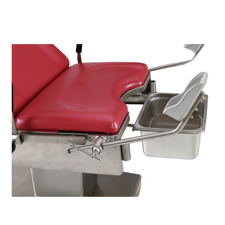 High quality factory provided ABS Drawers Medical Gynecological Examination Table for Clinic and Ward Room