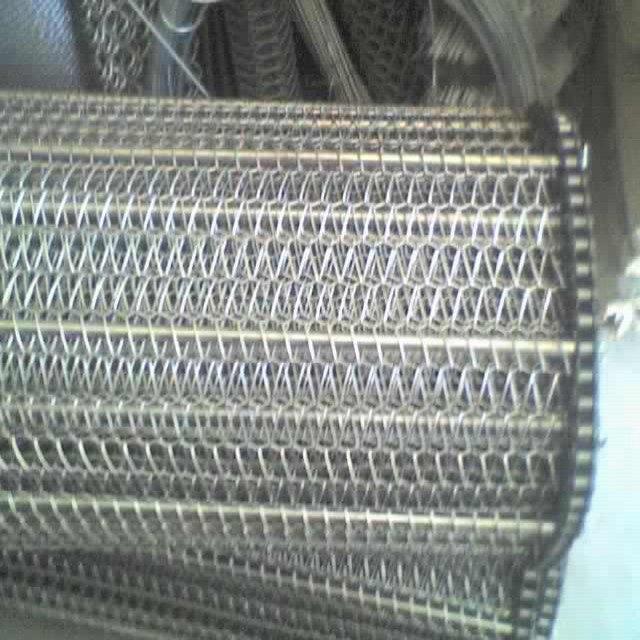 Высокотемпературная спиральная проволочная сетчатая конвейерная лента из нержавеющей стали для духовки
