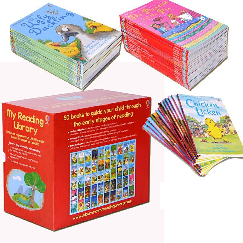 wholesale 50 books/set My Reading Library usborne books