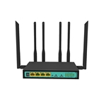 Dual Sim Dual Sim Card 4g Lte 2.4g 300m Wifi Router 2 PCIE Slot With 5db Antenna
