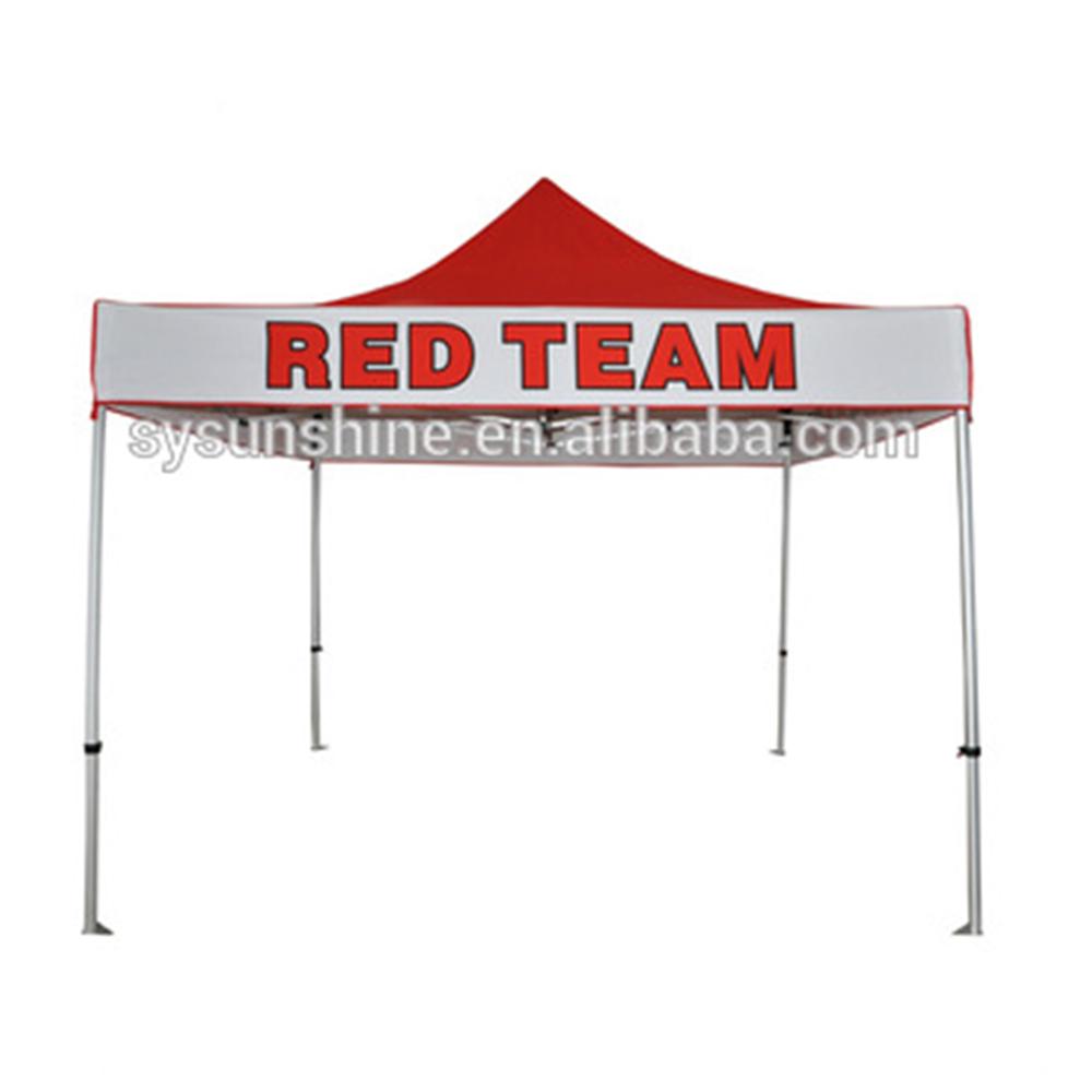 Палатка для торговой выставки 3x3 м, навесная палатка с бесплатным дизайном и логотипом на заказ