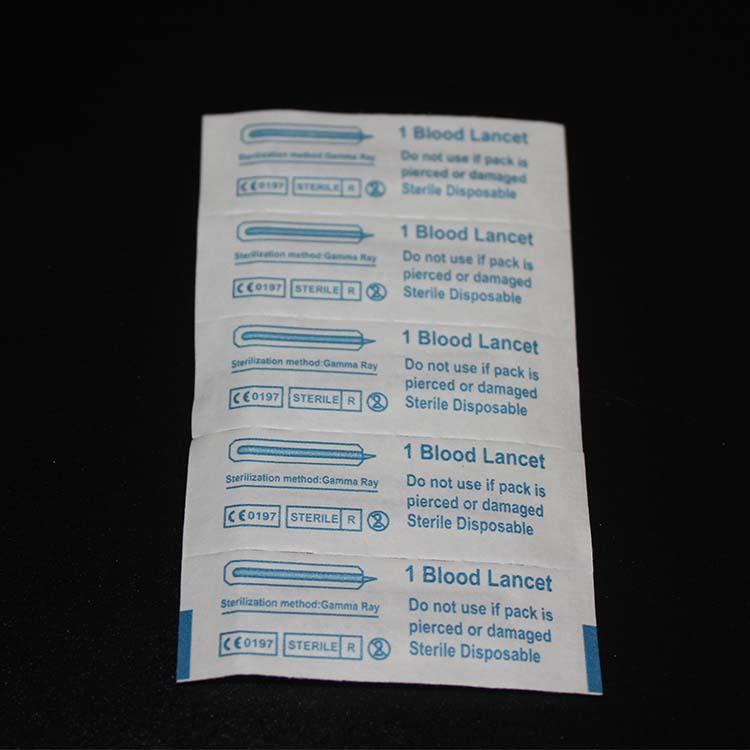 Manufacturing Price Disposable Safety Blood Lancet