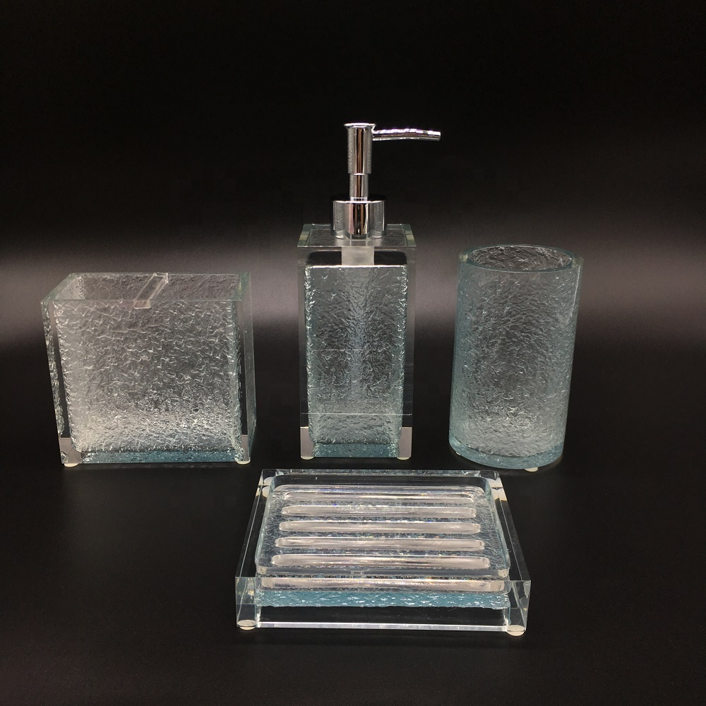 Luxury 100% Clear Resin Liquid Soap Pump for Japan