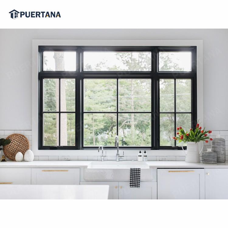 Алюминиевые створчатые окна, алюминиевые двойные створчатые окна, австралийский стандарт