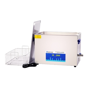 30L Digital Heated Ultrasonic Cleaning Bath Machine with Degas