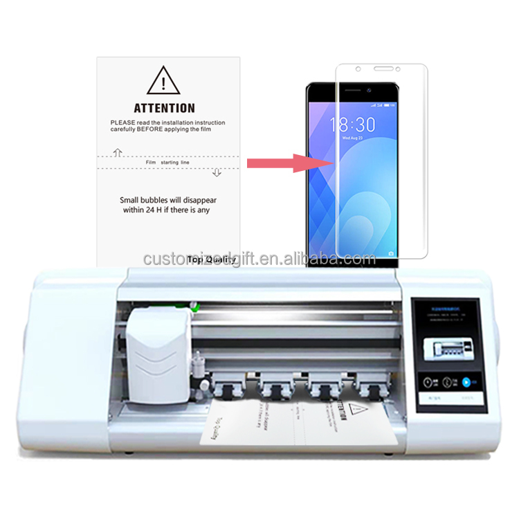 High Quality Film Cutting Machine for Iphone/Samsung/Huawei Intelligent Tpu Hydrogel Mobile Phone Screen Protector Cut Machine