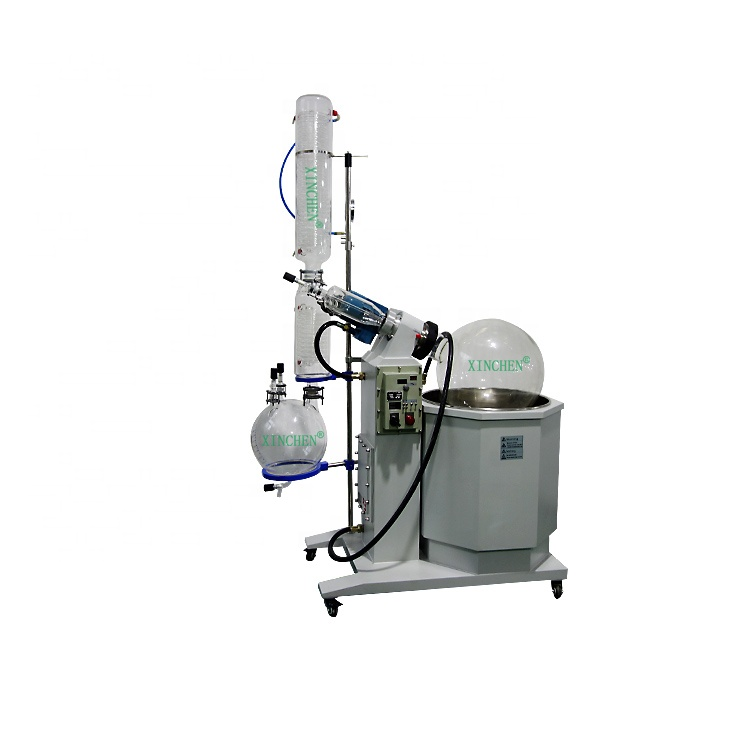 10L 20L  50L Ex Rotary Evaporator turnkey system with chiller and vacuum pump