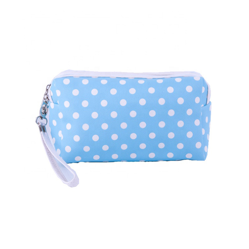 Custom makeup bag wholesale Fashion portable Travel Women Small Pouch cosmetic Organizer Bag with zipper