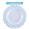8 inch soup dish(blue)