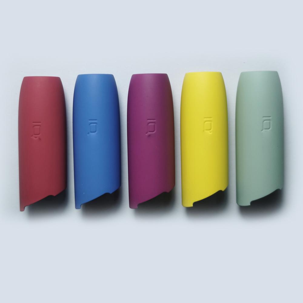 Цветной мундштук с заводской крышкой, полная оболочка для IQOS 3,0, сменный Внешний чехол, аксессуары для кнопок