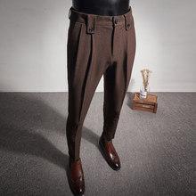 2020 новое платье в деловом стиле брюки для девочек модные складки повседневная Slim Fit для свадьбы; Обувь для офиса; Социальный костюм камуфляж...(Китай)