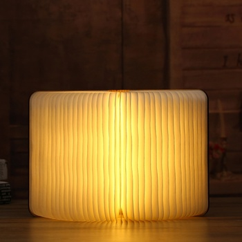 2021 new arrival rechargeable book lamp birthday return gifts for kids birthday girlfriend boyfriend