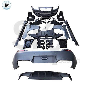 Factory price car accessories bumper M6 Body kit for BMW F12 F13 6 series facelift front bumper side skirts fenders