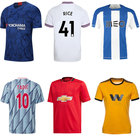 2020 2021 Wholesale custom High quality soccer jersey,united soccer uniform,jersey kits football camisa de clubes europeus