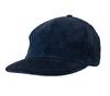 Blue courduroy cap