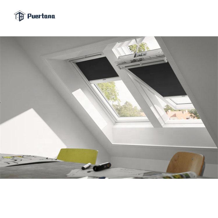Ударопрочные звуконепроницаемые окна из закаленного стекла с двойным стеклом плоское окно для крыши Skyview