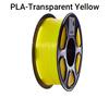 PLA Transparent Yellow/ Neutral Box