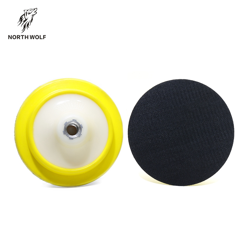 5inch rotary polisher flexible backing plate backing pad