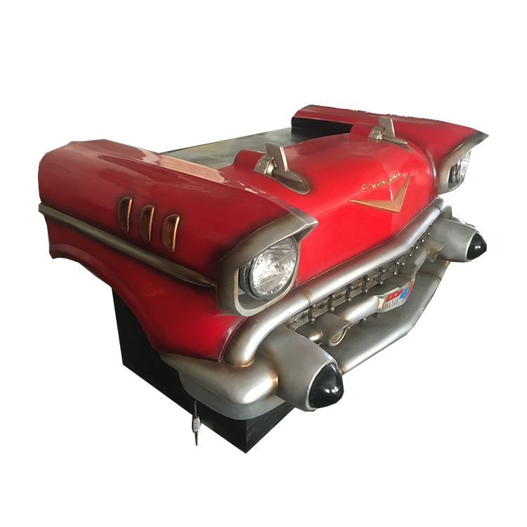 Industrial Car Shaped Bar Table Commercial Furniture General Use Car Vintage Bar Counter