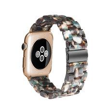 Для Apple Watch Band 3/4 42 мм 38 мм 40 44, браслет iWatch из натуральной кожи с застежкой из нержавеющей стали для iWatch Series 5/4 & 3 & 2 & 1(Китай)