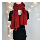 Wholesale Wholesale Modern Long Polyester/Cotton Scarf Knitting Scarf Jersey Scarf