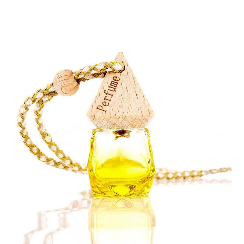 8 ml Air Freshener Car Hanging Perfume Bottle Refillable Fragrance Diffuser Empty Glass Bottle