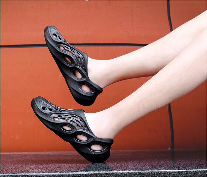 Новинка, Стильная летняя дышащая пляжная удобная обувь для сада и работы, легкая обувь унисекс из ЭВА