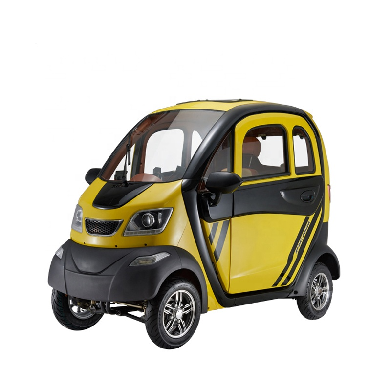 China Cheap Hot Sale EN12184 4 Wheel 3 Seater Electric Adult Mini Car