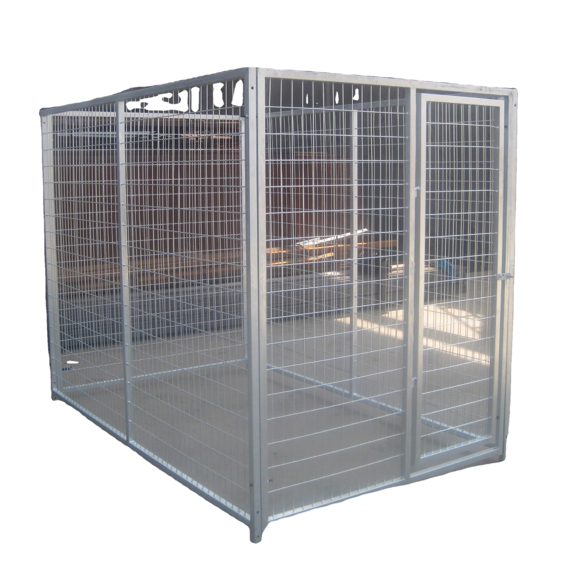 Hot Dip Galvanized Dog House/dog Kennel/metal Dog Cage   Buy ...