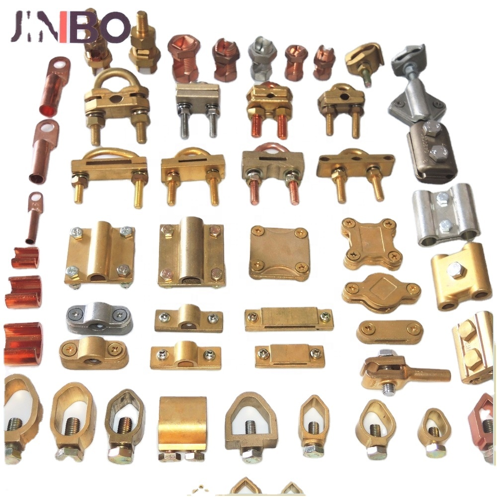 Electrical Material Grounding Clamp Brass Rod Clamp Earthing Clamp
