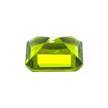 2020 Latest Product High Durability Practical Buyers Octagon Cut Gemstones Jewelry natural peridot stone