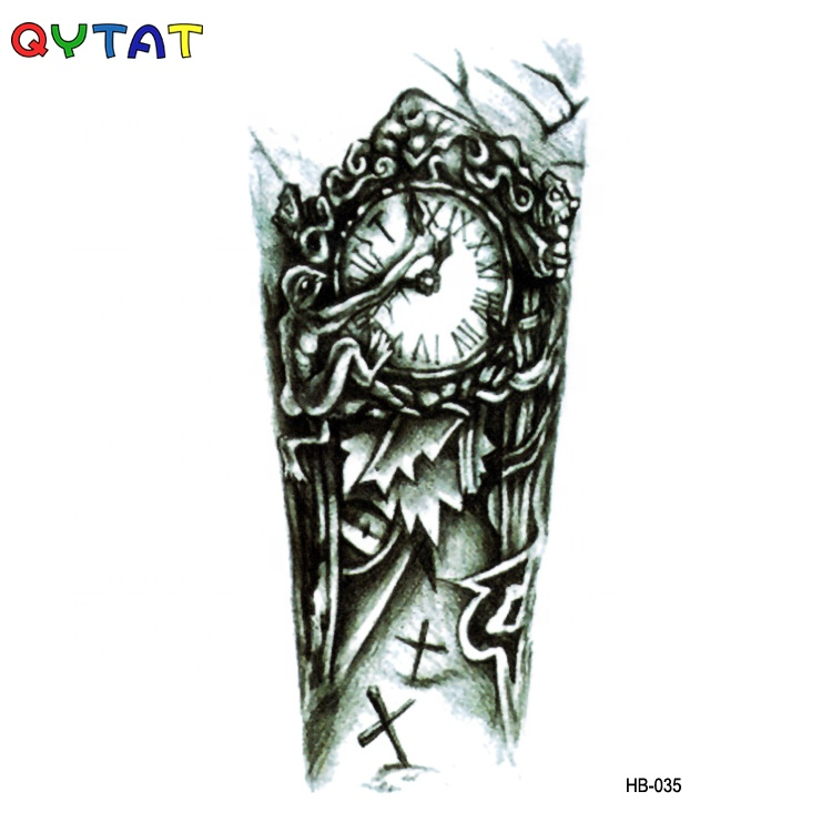 QYTAT High Quality Realistic Fake Body Water Transfer Temporary Tattoo Sticker