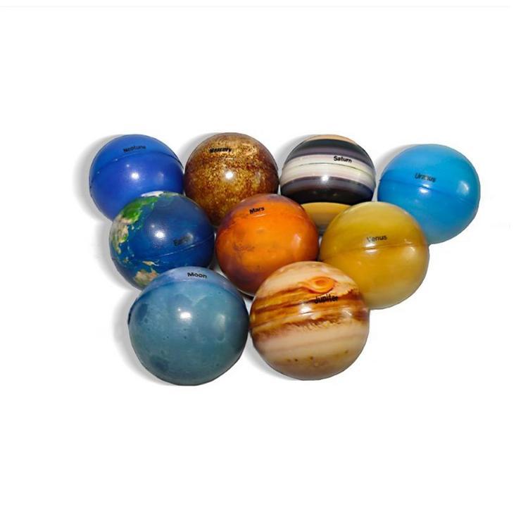 Funamee Solar System Stress Ball Anti Stress Solar Planets Balls ...