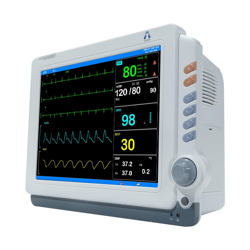 Hot Selling Hospital Medical Portable Patient Monitors Icu Ambulance Multi  Parameter Patient Monitor - Buy Patient Monitor Multi-parameter,Patient  Monitor 12,Patient Monitor Printer Product on Alibaba.com