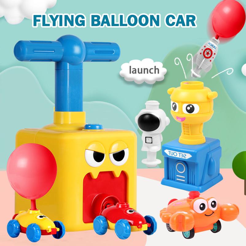 Мощный воздушный шар, автомобиль, игрушка для детей, подарок, Мощный воздушный шар, пусковая башня, игрушка, рождественский подарок