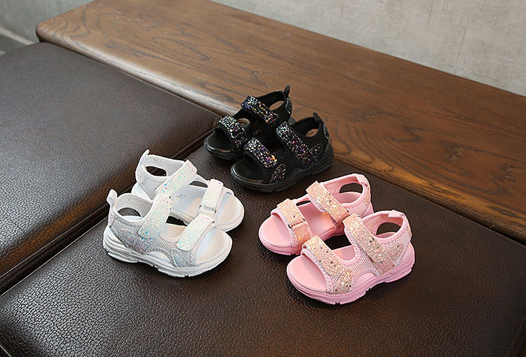 Летние Нескользящие сандалии с мягкой подошвой 2021 для мальчиков и девочек